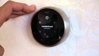 Nest Thermostaat - Bediening