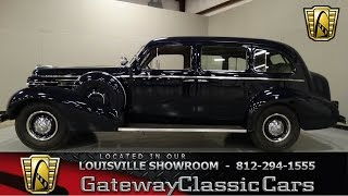 1938 Buick Limited Touring Sedan Stock #838 located in our Louisville Showroom