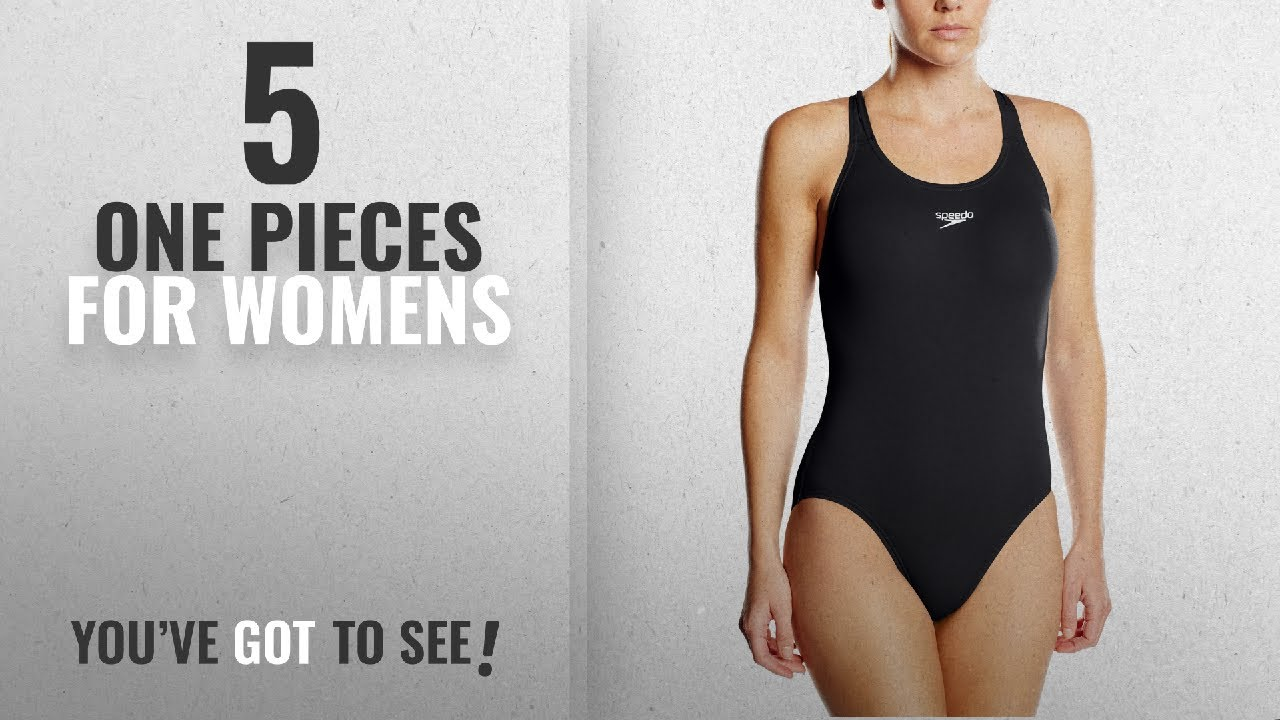 d0aaac5f8a Top 10 One Pieces For Womens [2018]: Speedo Womens Essential Endurance+  Medalist Swimsuit Swimsuit,