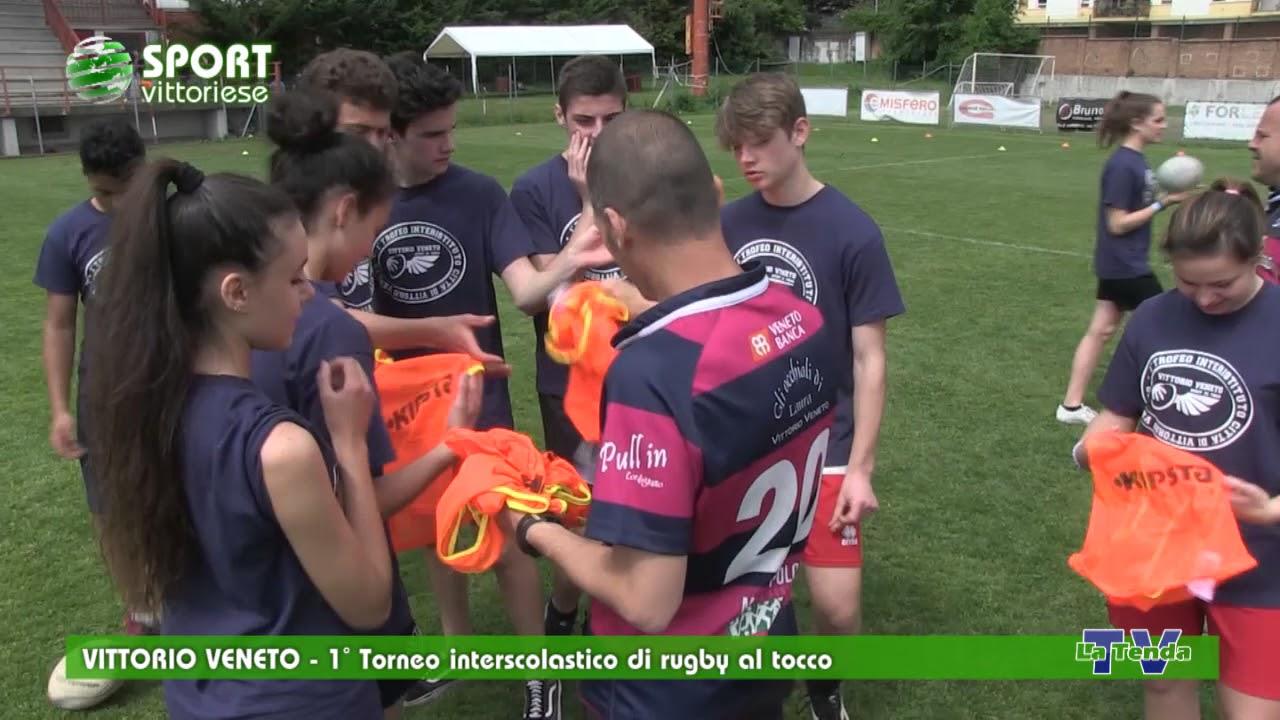 Sport Vittoriese - 1° Torneo interscolastico di rugby al tocco