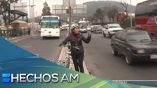 De Ecatepec a CDMX en bici: suplicio de ciclistas