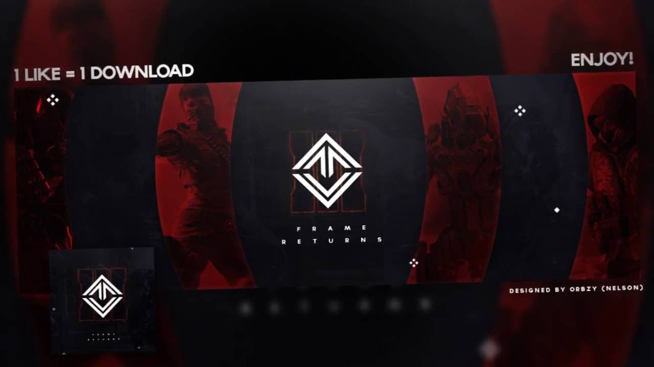 free gfx free twitter header template psd link in description youtube