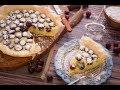 فطير و عصير - طريقة تحضير فطيرة الكريز بكريمة فرنسيه مع عصيرالطبقات الملونة - الجزء