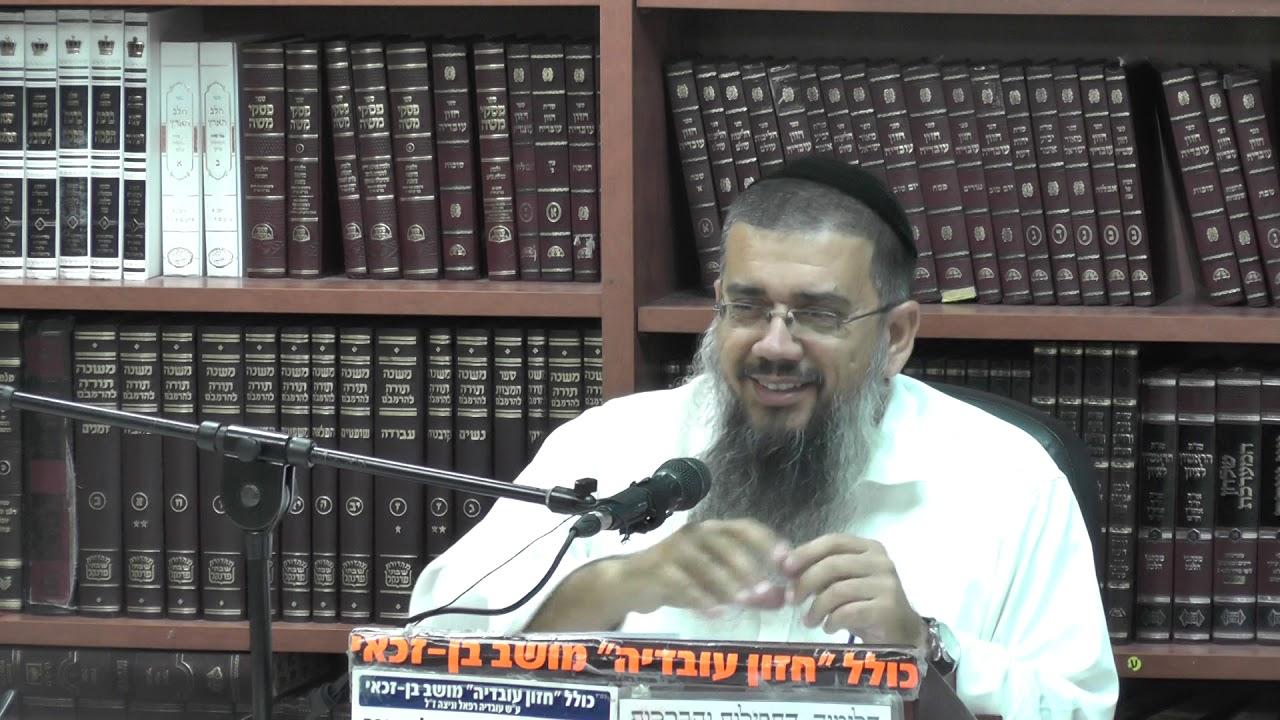 הרב אברהם עובדיה : פרשת כי תצא.