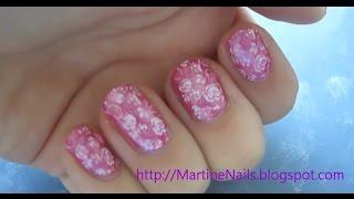 Nail art: Romantische roosjes   MartineNails