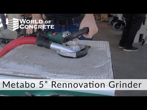 Metabo 5 inch Rennovation Grinder
