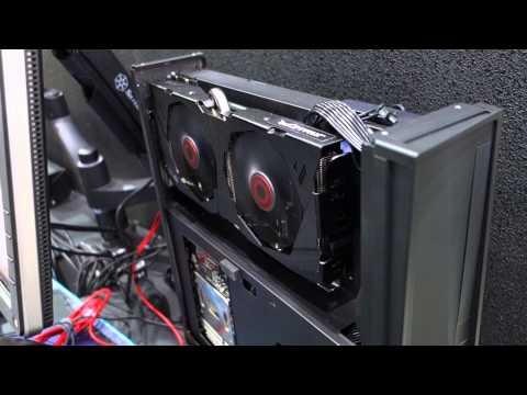 Silverstone shows off its new console-sized mini-ITX Raven case (Computex 2015)