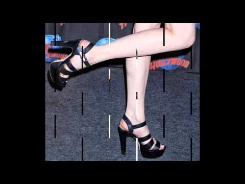 Elizabeth Gillies' funky birthday feet
