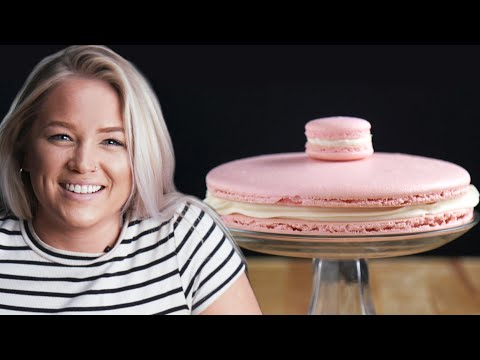 Making A Giant Macaron: Behind Tasty