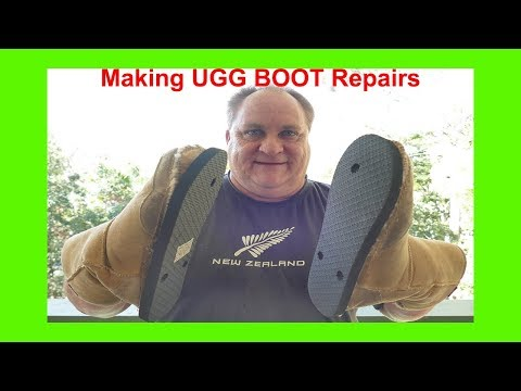 How to Make Ugg Boot Repairs at Home