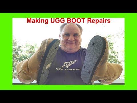 Making UGG BOOT Repairs