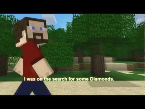 Minecraft in Search of Diamonds Lyrics