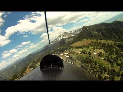Gliding Salt River Range - 47 Min Raw Footage