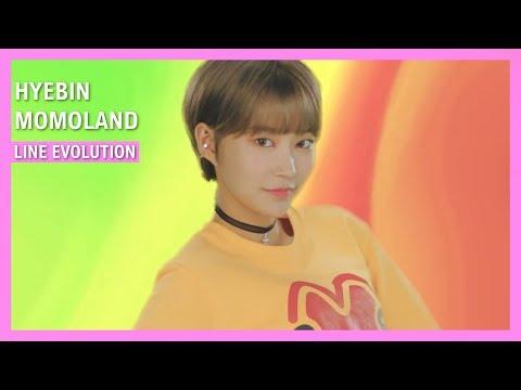 MOMOLAND - HyeBin Line Evolution