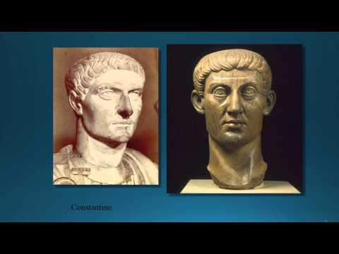 Roman History Lecture #2 Third Century Crisis to Constantine HIST 1014