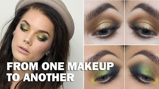 From one makeup to another (with subs) - Linda Hallberg Makeup Tutorials Thumbnail