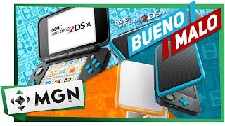 NEW NINTENDO 2DS XL: LO BUENO Y LO MALO (Análisis y reseña) | MGN