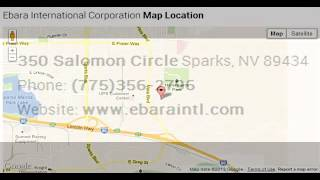 Ebara International Corporation Corporate Office Contact Information Thumbnail