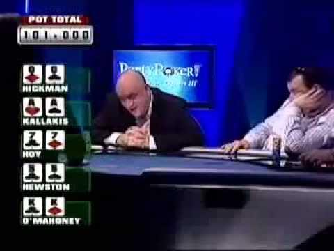 Покер. Невероятная раздача в покере