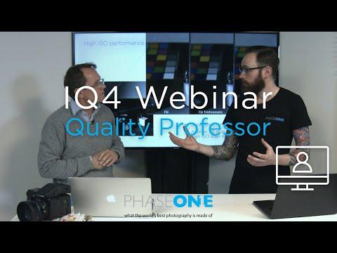 Education I Webinar: The IQ4 150MP - Image Quality Professor | Phase One