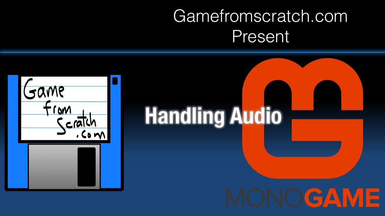 MonoGame Tutorial: Audio