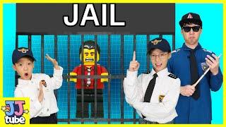 다이아몬드를 훔친 도둑을 잡아라!! 레고시티 경찰 장난…