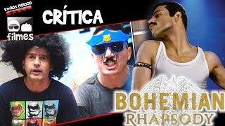🎬 Bohemian Rhapsody Queen - Crítica - Irmãos Piologo Filmes
