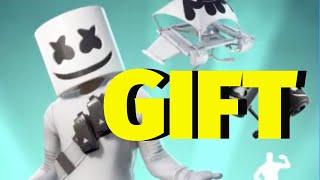 Fortnite GIFT Marshmello Bundle | Marshmello Skin, Mello Mallets, Marsh Walk, Mello Rider