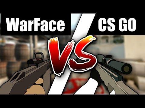 CS GO Vs WARFACE