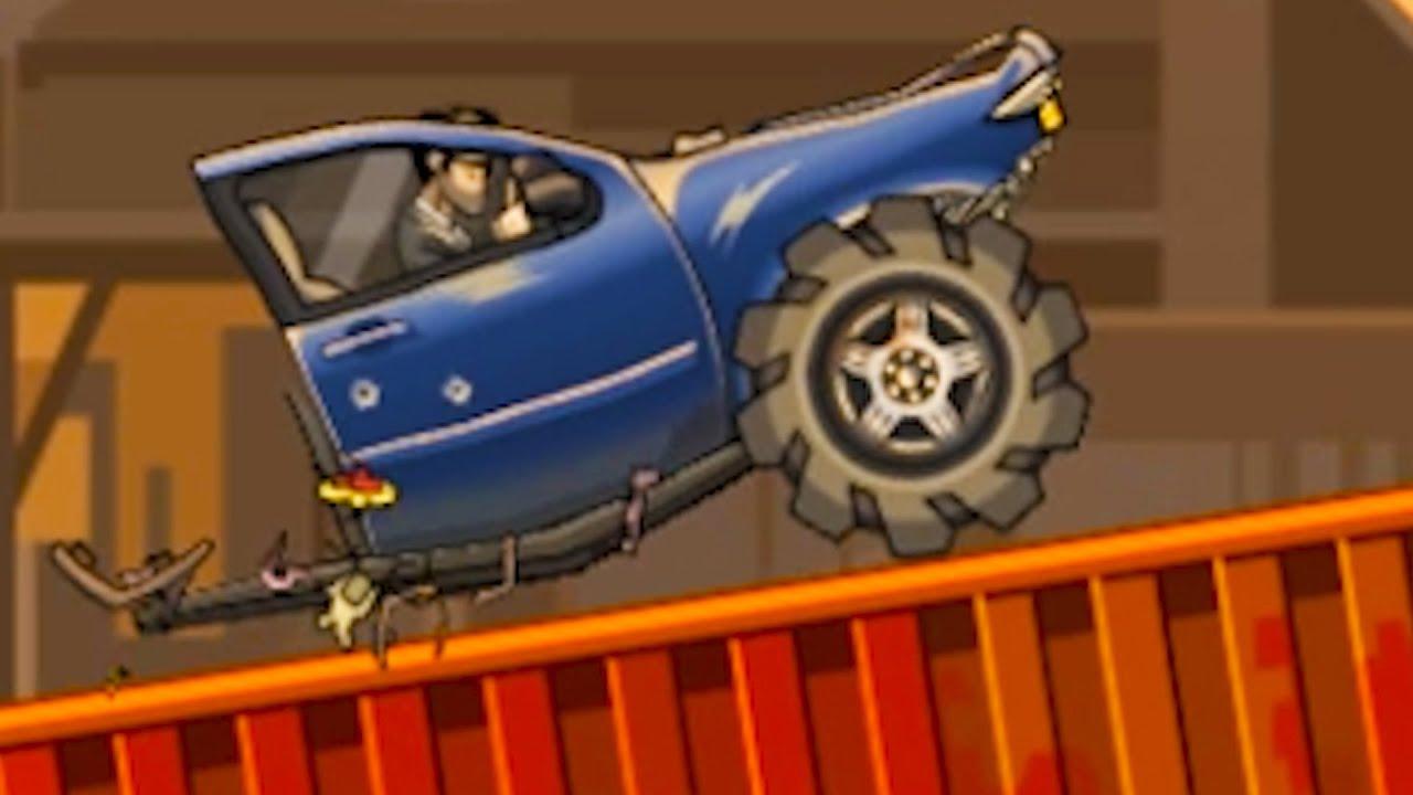 Одноколесная Машина Earn to Die 2 #7 Кид на одном колесе джипа против зомби на канале Машинки Кида