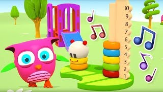 Sing-along Songs for Babies with Hop Hop the Owl! Funny Songs for Kids & Nursery Rhymes