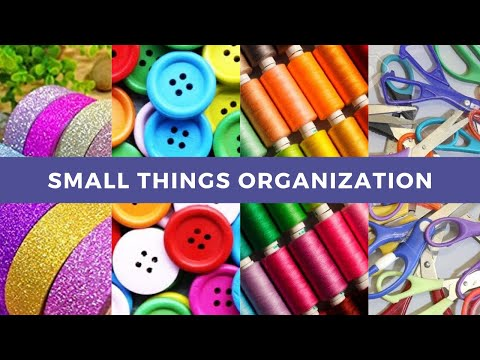 7 amazing ways to organize small things   Unique and different ideas to organize small things