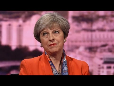 Theresa May talks Corbyn, Food Banks, Welfare, Pensions, Brexit, & Gay Sex