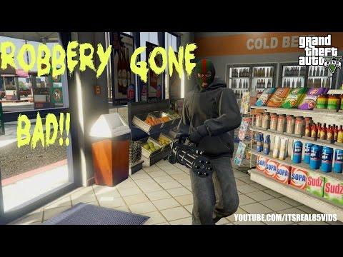 GTA 5 Short: ROBBERY GONE BAD!