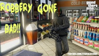 GTA 5 Short: ROBBERY GONE BAD!