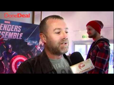 Entertainment.ie At The Avengers Assemble Premiere In Dublin