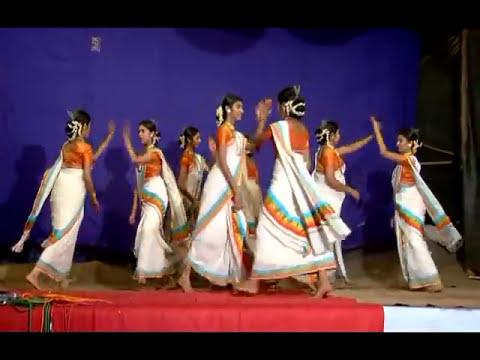 thiruvathirakali , state first parudur high school,pallippuram