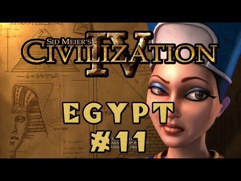 Civilization IV - Egyptian Specialist Economy! - Episode 11