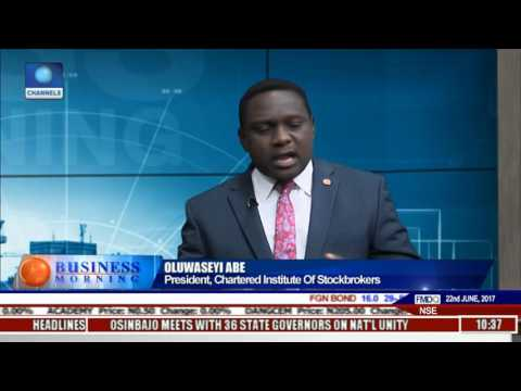 Business Morning: Expert Calls For More Government's Involvement In Captial Market Pt 1