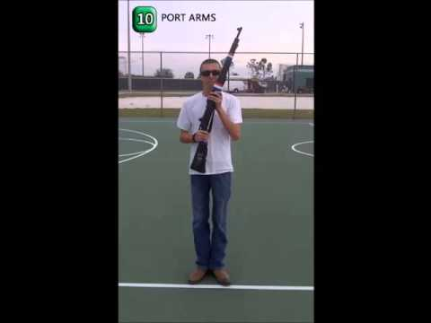 prhs jrotc 15 count manual arms tutorial youtube rh youtube com Manuals of Arms 16-Count 15 Count Manual of Arms Command