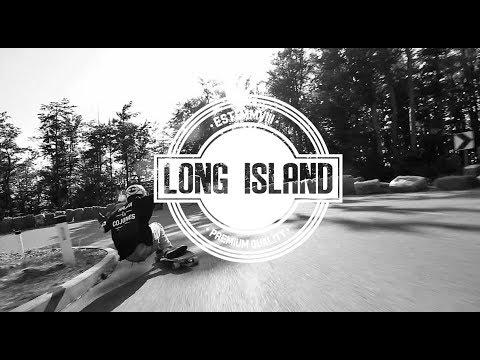 Fliyng down Knk I Long Island Longboards
