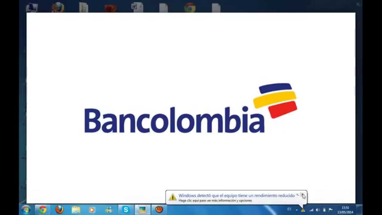 valor bancolombia:
