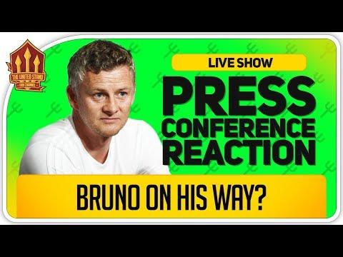 Solskjaer Bruno Fernandes Update! Liverpool Vs Manchester United Press Conference Reaction