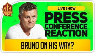 Solskjaer Bruno Fernandes Update! Liverpool vs Manchester United Press Conference Reaction