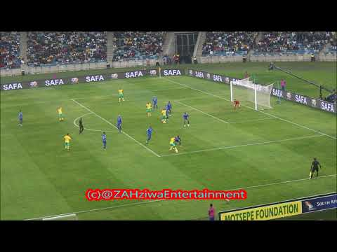 Bafana Bafana vs Cape Verde Islands (1-2)