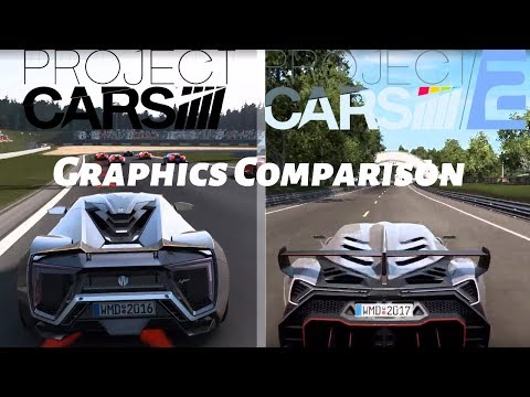 Project CARS 1 VS Project CARS 2 | Graphics Comparison | Gameplay