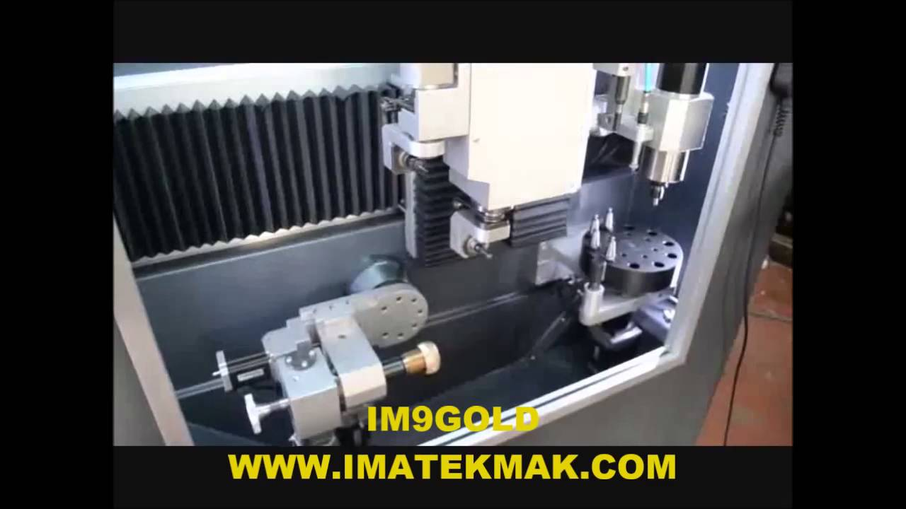 Im9gold Cnc Jewellery Machine Youtube