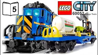 LEGO CITY 60052 Cargo Train Video Instructions 5