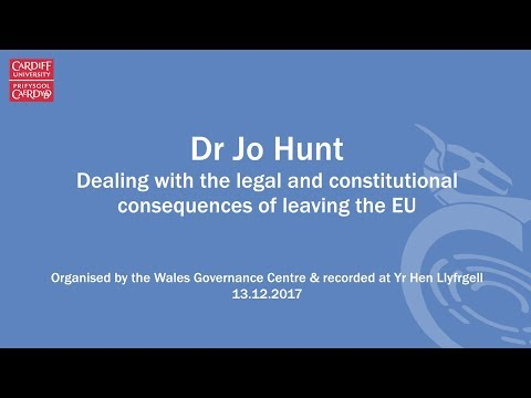 Dealing with the constitutional consequence of leaving the EU