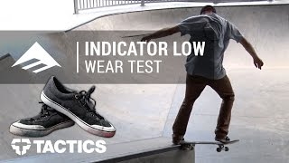 Emerica Indicator Low Skate Shoes Wear Test Review – Tactics.com